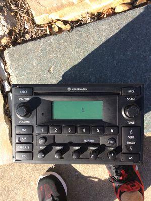 Genuine Volkswagen radio (great condition) for Sale in Arlington, VA