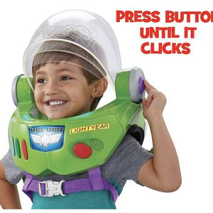 Disney Pixar Toy Story Buzz Lightyear Space Ranger Astronaut Helmet Jet Pack Lights and Sounds for Sale in Beaverton, OR