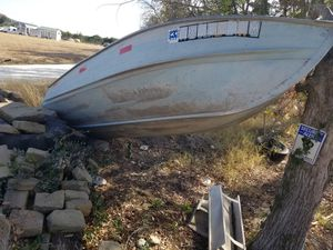 Old aluminum john boat! DOES NOT LEAK! for Sale in Comfort, TX