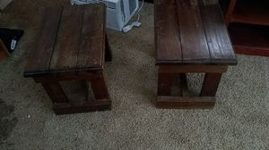 Matching antique end tables for Sale in Abilene, TX