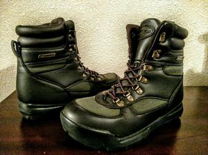 Winter Snow Boots Shoes Waterproof memory foam Military Tactical Work Boots 10.5 for Sale in Pitcairn, PA