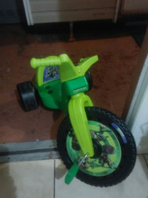 Ninja turtles triciclye for Sale in Orlando, FL