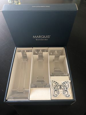 Brand NEW Marquis Waterford Candlesticks crystal for Sale in Seattle, WA