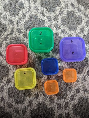 Portion control containers for Sale in Harrisonburg, VA