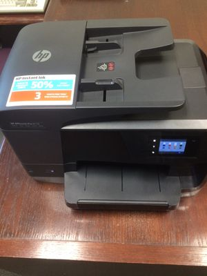 🔥💥BARELY USED💥🔥💥. HP OfficeJet Pro 8710 (M9L66A) A ll-in-One Wireless Printer with Mobile Printing, Instant Ink ready for Sale in San Antonio, TX