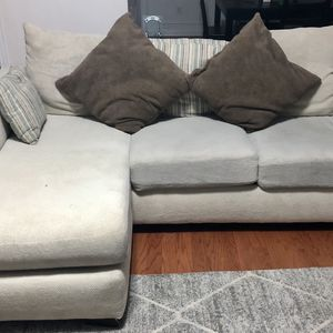 3 Seater Sectional Sofa - White for Sale in Roswell, GA