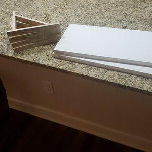 White IKEA Wall Shelves for Sale in Atlanta, GA