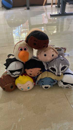 Lot of 22 TsumTsums for Sale in US