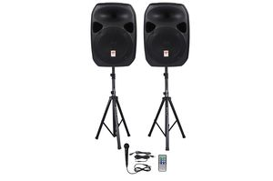 Rockville Dual standing speakers for Sale in Derwood, MD