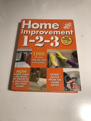 Home Depot Home Improvement 1-2-3 Book for Sale in Fresno, CA