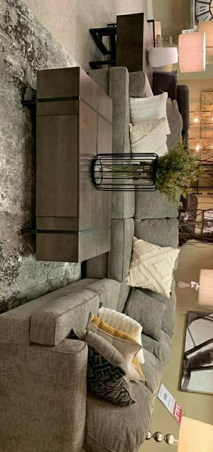 Bovarian Stone Sectional couch Living Room Set for Sale in Houston, TX