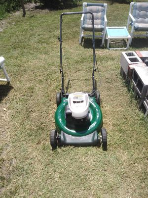 Good solid body push lawn mower works great new spark plug new oil new paint job looking for 80 or best offer for Sale in Port Charlotte, FL