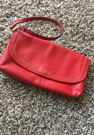 Red Coach Wristlet for Sale in Lakewood, CO