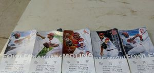 Cardinal tickets for todays day game second level 269 for Sale in St. Louis, MO
