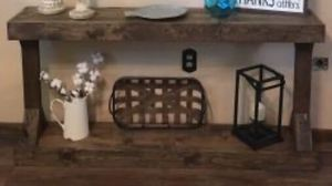 New!! Console Table,Accent Table, Living Room,Decor Table,-Dark Walnut for Sale in Phoenix, AZ