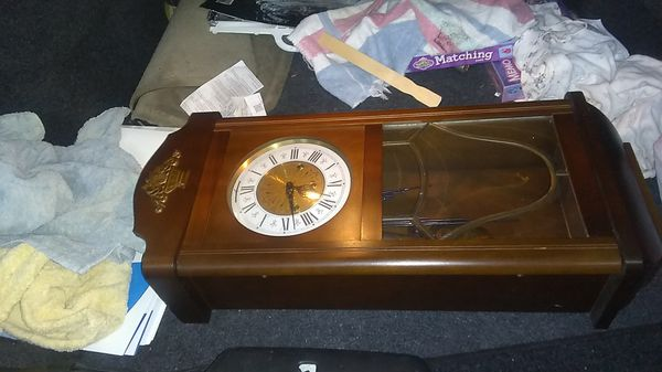 This clock is absolutely beautiful. It is an antique and then number one great shape.