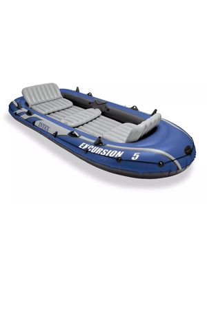 Intex Excursion 5 Person Inflatable Fishing Boat for Sale in Santa Ana, CA