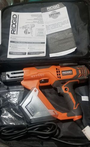 """•RIGID• 3"""" Drywall & Deck Collated Screwdriver for Sale in National City, CA"""
