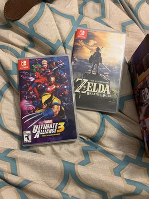 Nintendo switch and games for Sale in Atlanta, GA