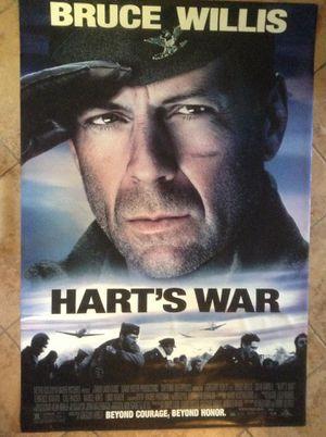 Bruce Willis Hart's War $55.00 today for Sale in Homestead, FL