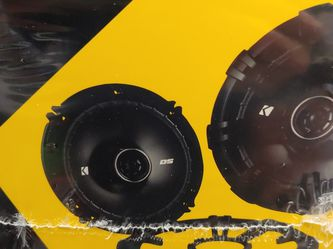Car speakers: 1 Pairs Kicker 6.5 inch 2 way 240 watts car speakers Brand new for Sale in Downey,  CA