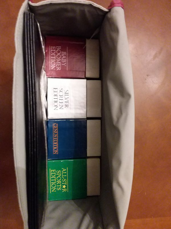 TRIVIAL PURSUIT GAME with MULTIPLE EDITIONS