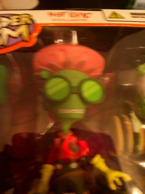Invader Zim germ fighter action figure by Palisades