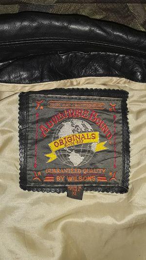 Xl black leather jacket for Sale in Glendale, AZ