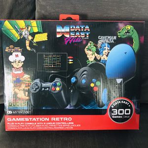 My Arcade Gamestation Reto console Data East over 300 video games for Sale in Concord, CA