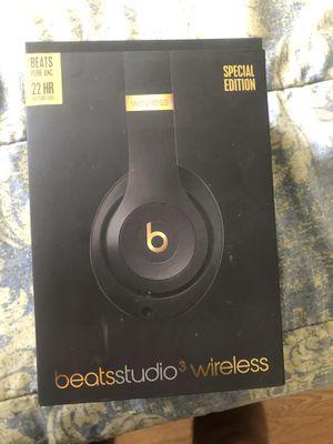 Beats Studio 3, 150$ firm!(like new) for Sale in Jersey City, NJ