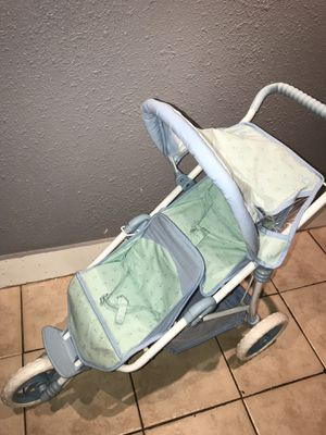 American girl double stroller for Sale in Houston, TX