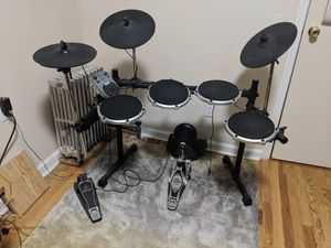 Behringer XD80USB Electric Drum Kit (kick drum pedal & headphones not included) for Sale, used for sale  Brooklyn, NY