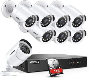 ANNKE 8CH Security Camera System for Sale in Whittier, CA