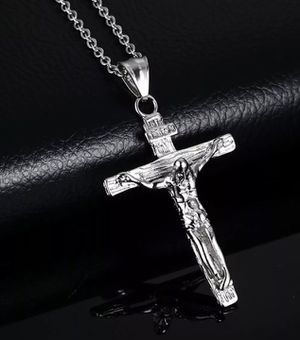 Cross necklace in silver for Sale in Indianapolis, IN