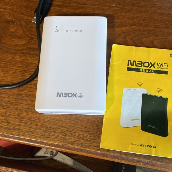 WiFi HDD And Router ...also acting As Charger....750 GB