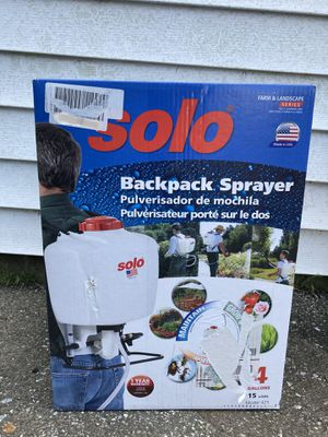 Solo Backpack Sprayer for Sale in Ocean Pines, MD