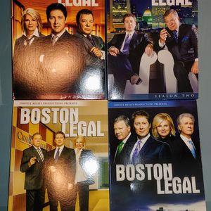 Boston Legal Seasons 1-4 DVD for Sale in St. Louis, MO