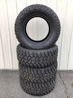 """Set of LT 33x12.50R18 General Grabber X3 18"""" Tires Stock #8730 for Sale in Everett, WA"""