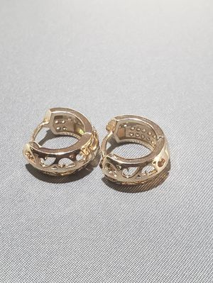 Gold plated 14K earrings for Sale in Oakland, CA