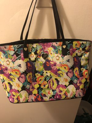 Betsey Johnson flora purse for Sale in Boston, MA