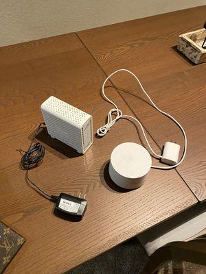 Router & modem for Sale in Hyattsville, MD