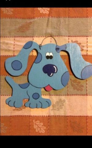 Blue's Clues Wooden wall decor for Sale in Milnesville, PA