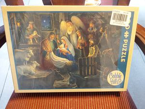 New Sealed Cobble Hill Away in a Manger Jigsaw Puzzle 500pc puzzle game for Sale in Alpharetta, GA