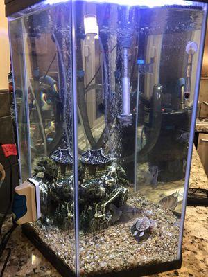 20 gallon Hexagon Fishtank for Sale in Modesto, CA