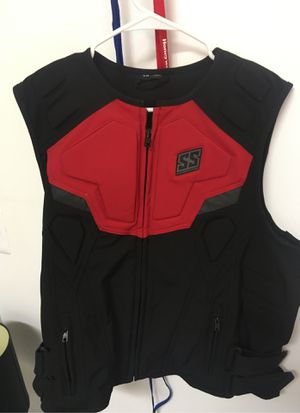 SS speed and strength motorcycle vest/ Large for Sale in Dearborn, MI