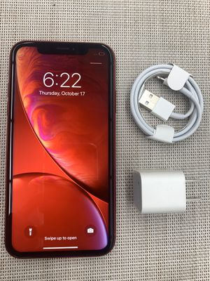 Iphone XR Red 64Gb Tmobile Metropcs network like new for Sale in Garden Grove, CA