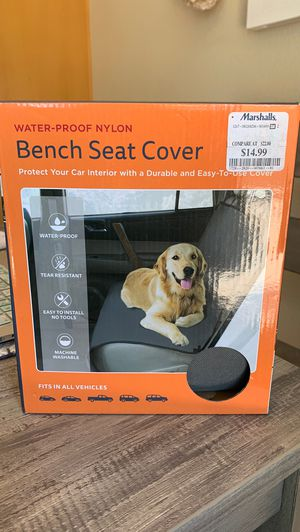 Car Bench Seat Cover for Pets (Water-Proof Nylon) NEW! for Sale in Chula Vista, CA
