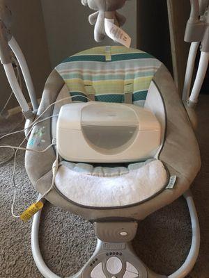 Baby swing and wipe warmer for Sale in Little Rock, AR