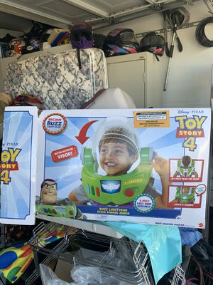 Buzz lightyear space ranger armor work open box never used $25 price is firm for Sale in North Las Vegas, NV