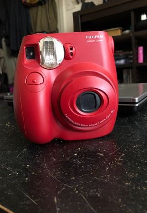 Fuji film Instax Mini 7s Red $25 for Sale in Portland, OR